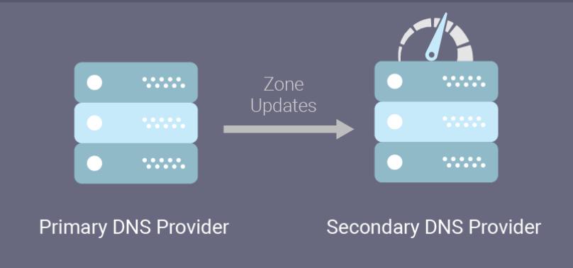 Primary DNS Provider / Secondary DNS Provider - Zone updates