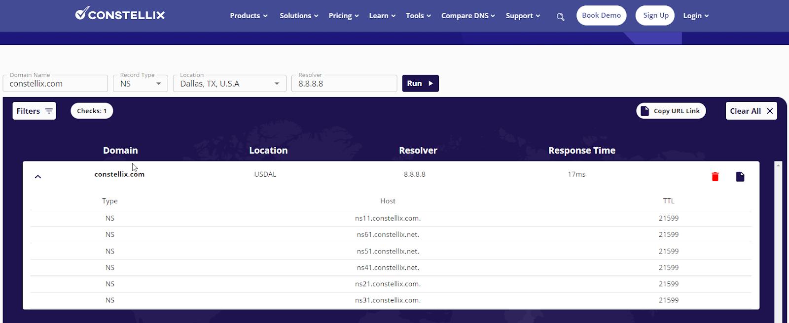 DNS Lookup Tool - FREE