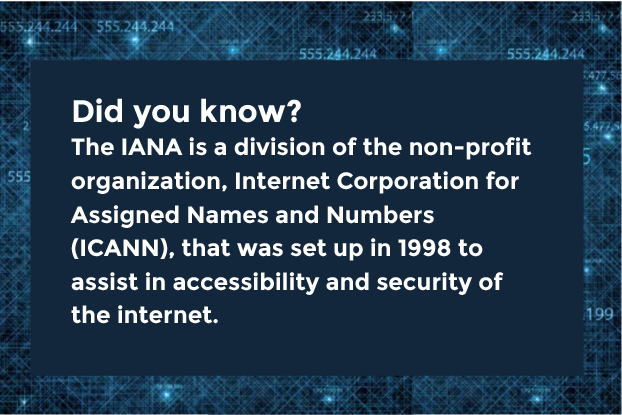IP Address - ICANN - Set up to assist in accessibility and security for the internet