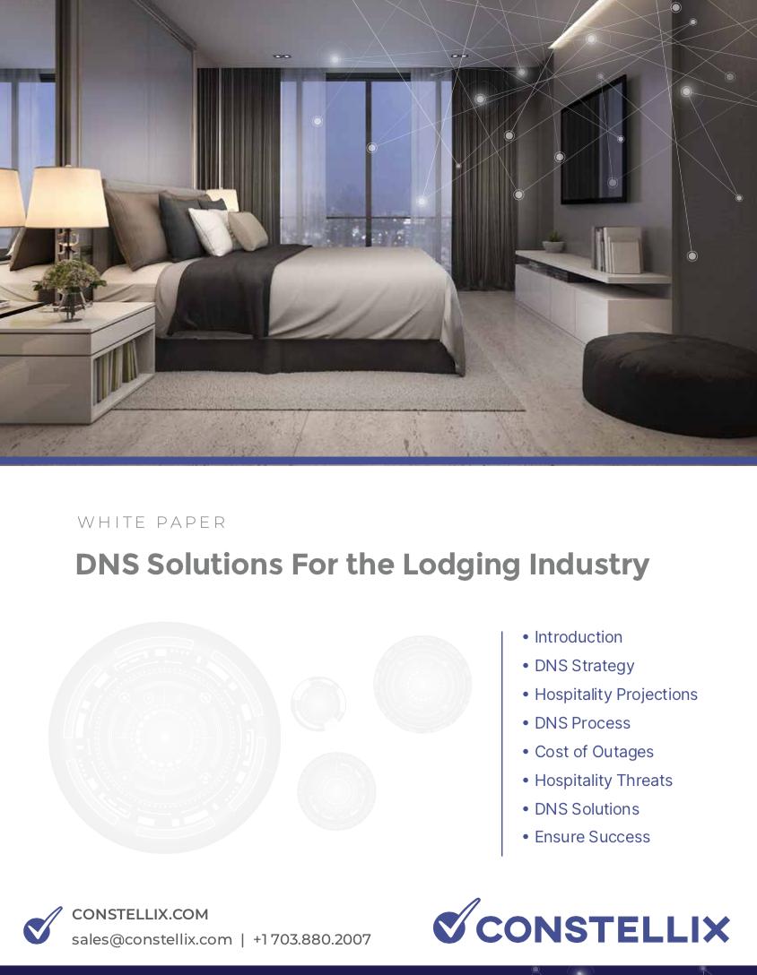 DNS Solutions - Edge DNS for Hospitality