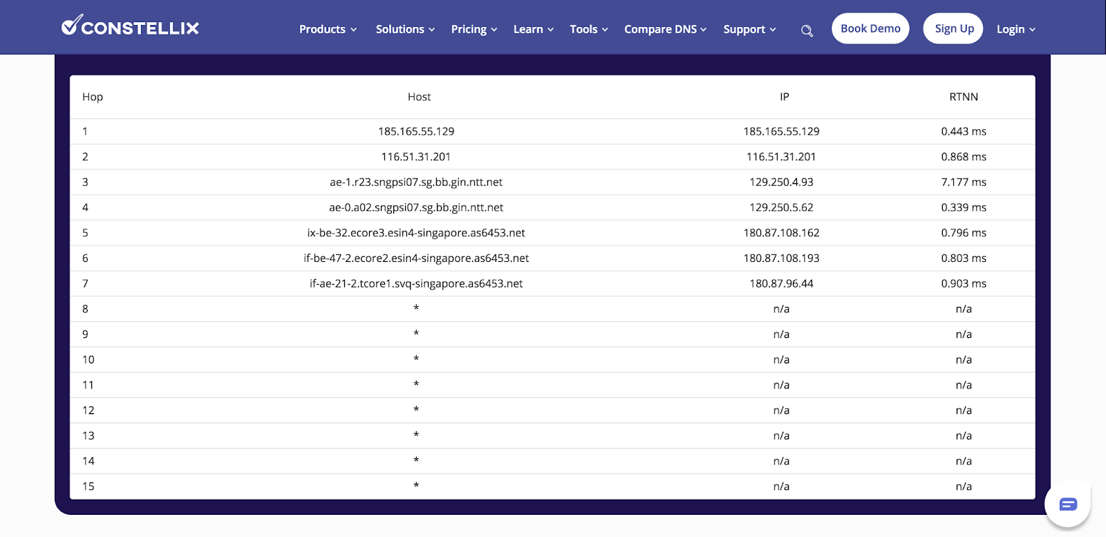 free traceroute tool