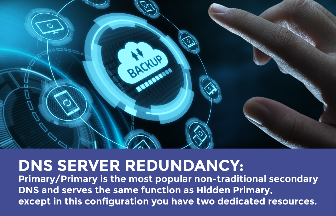 DNS Server redundancy - benefits of dual managed DNS providers