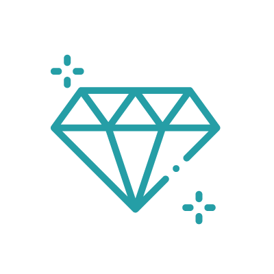 Icon displaying diamond