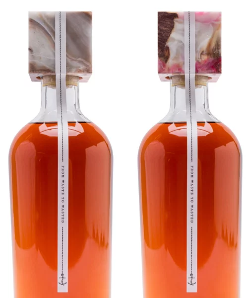 reusable liquor bottle sustainable beverage design