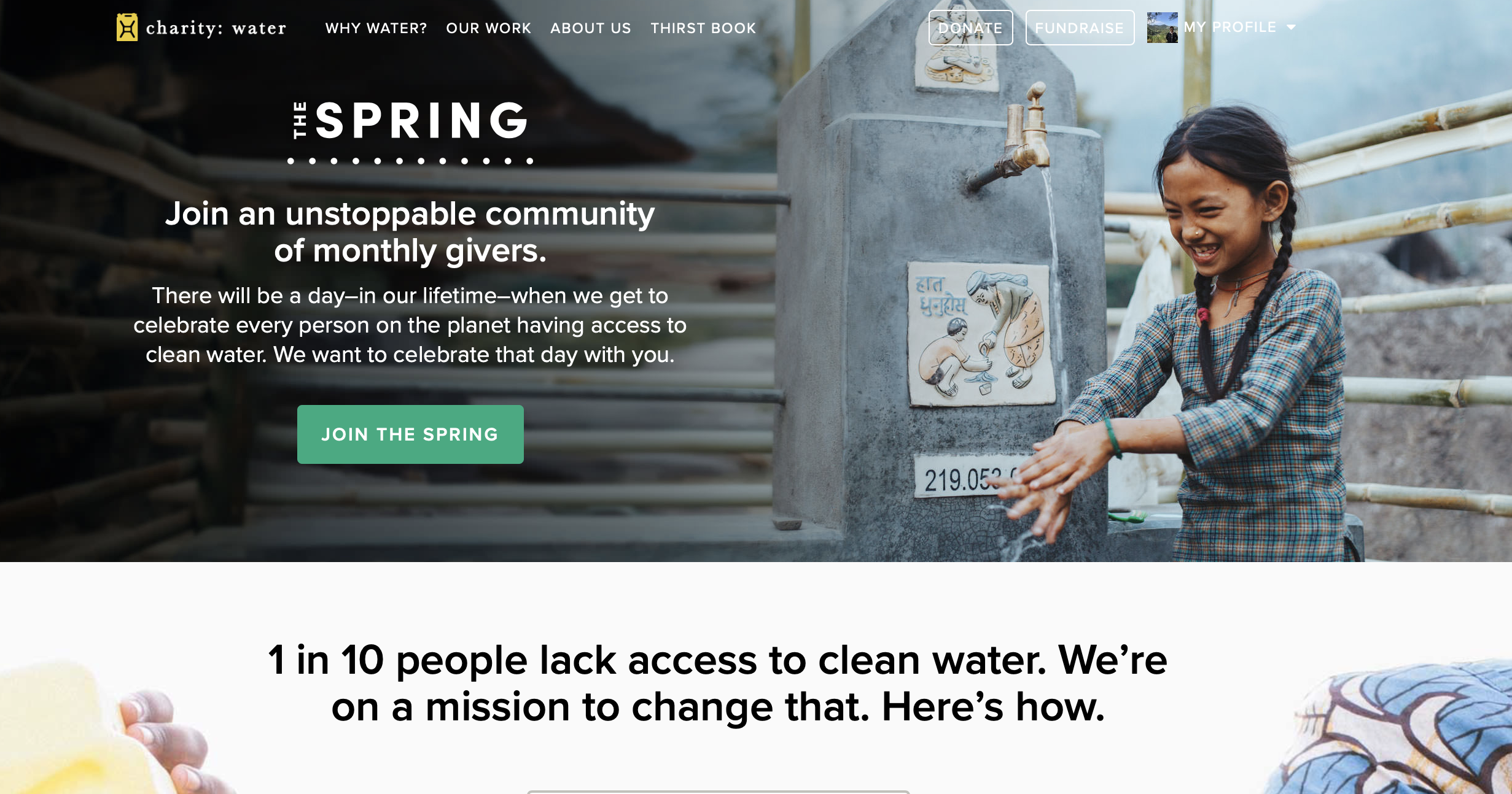 Charity-Water-Emotional-Interaction