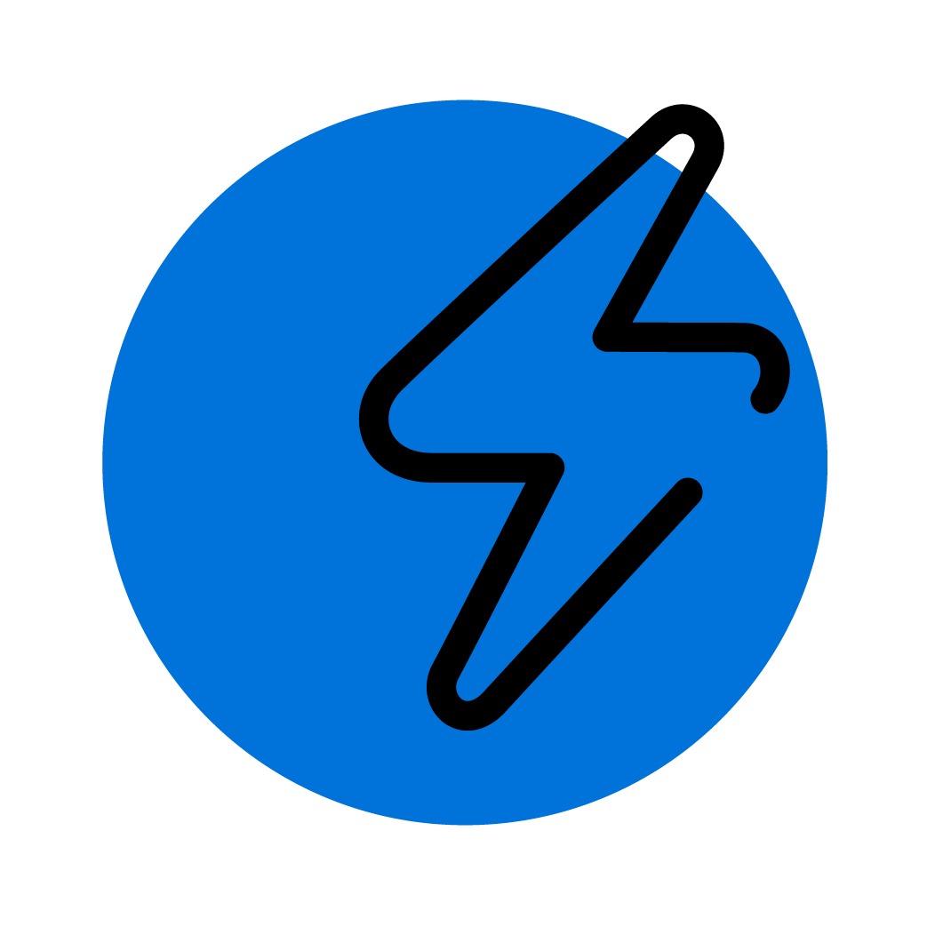 Icons-BlackOnBlue_Lightning Bolt