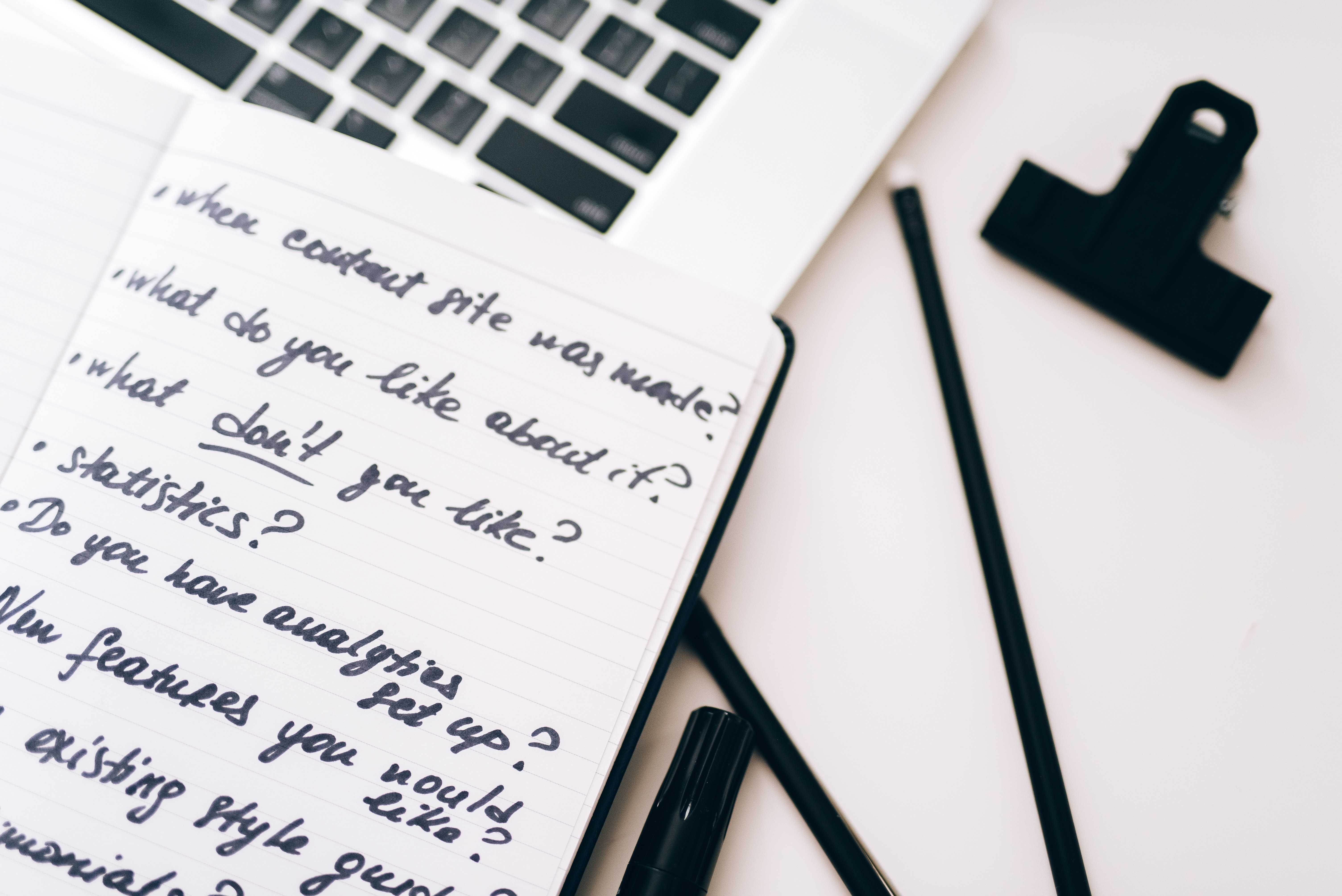 Double-barreled questions | How to avoid writing them