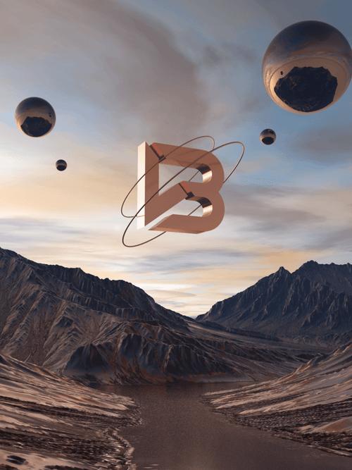 Bolden Ventures 3D render creative.