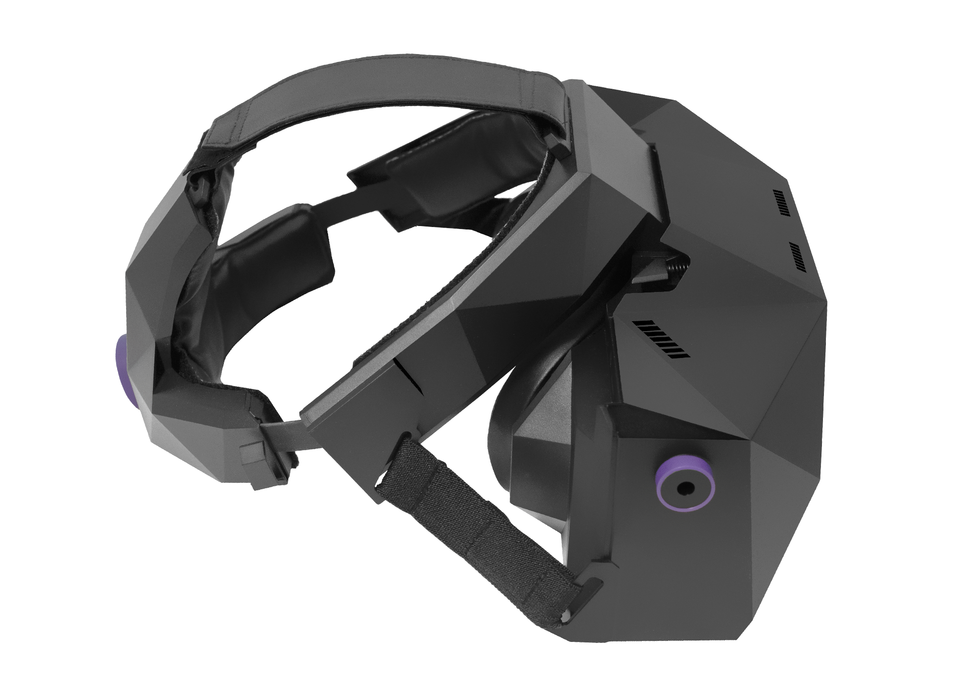 XTAL 8K professional VR headset right side view