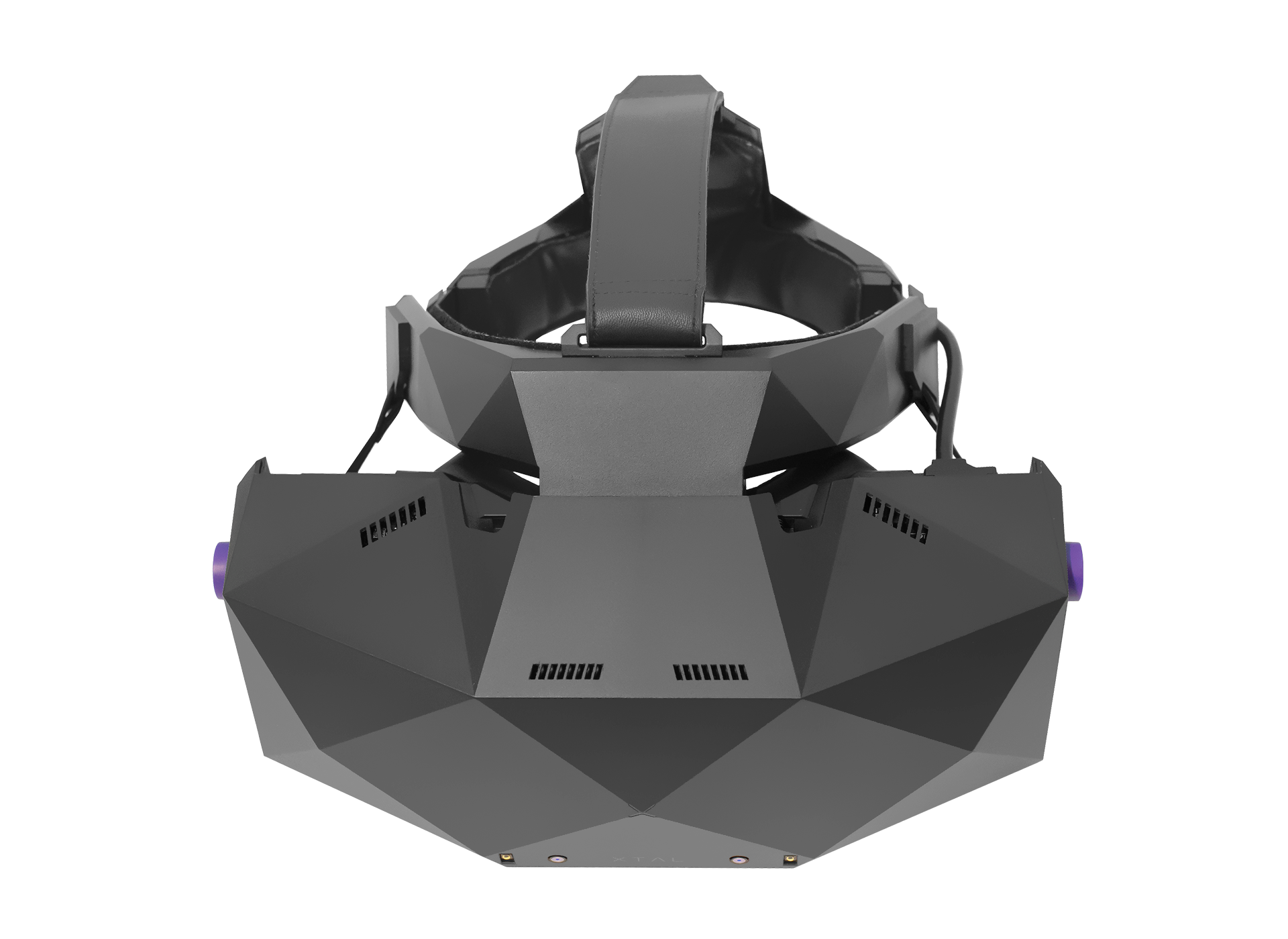 XTAL 8K professional VR headset top view without tracking