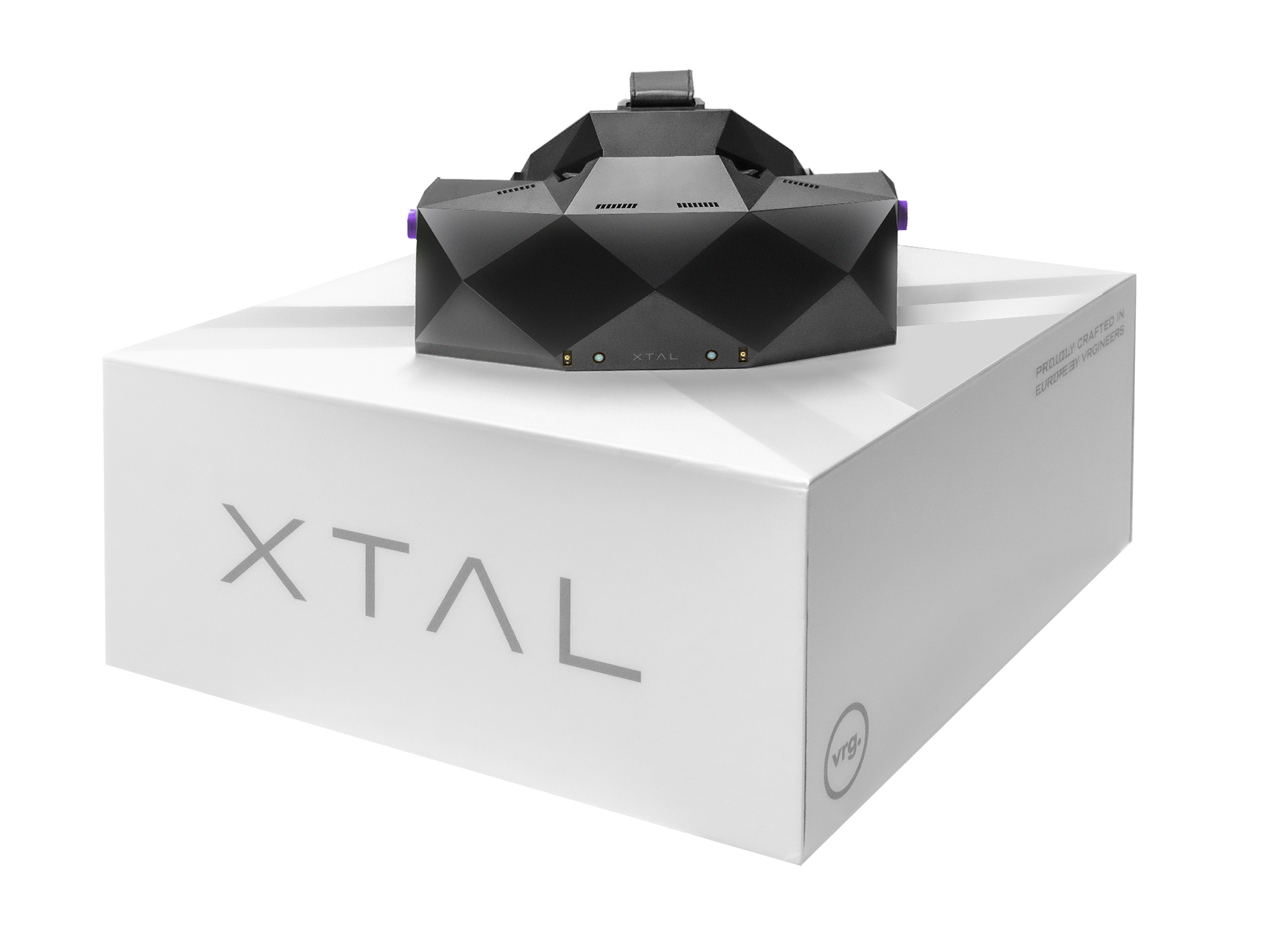 XTAL 8K professional VR headset product packaging