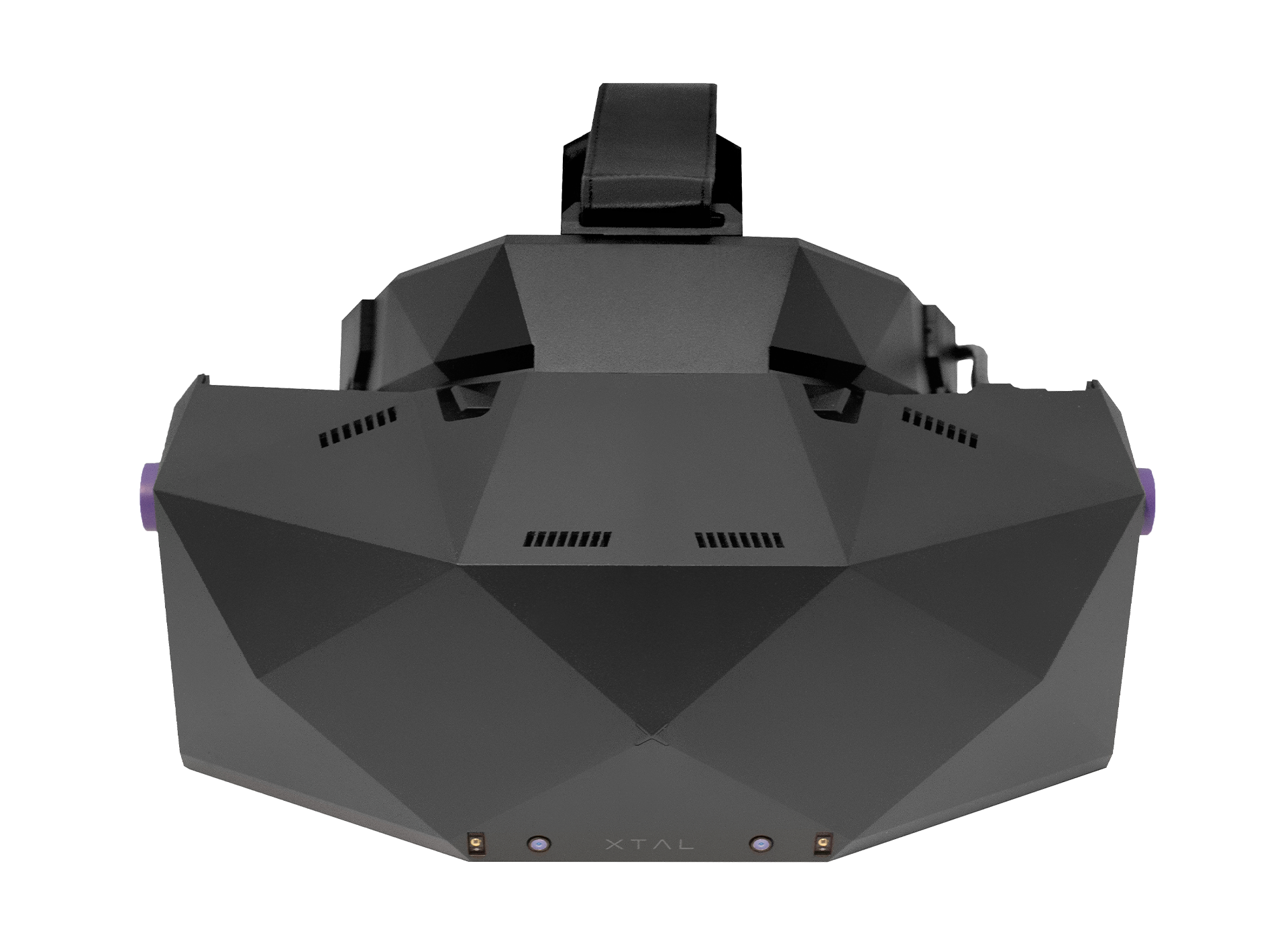 XTAL 8K professional VR headset front view without tracking