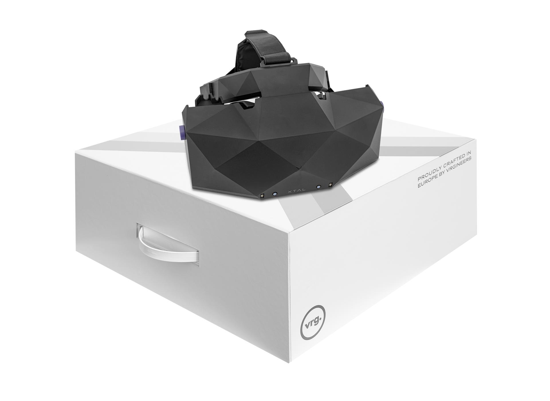 XTAL 5K high-end VR headset packaging box