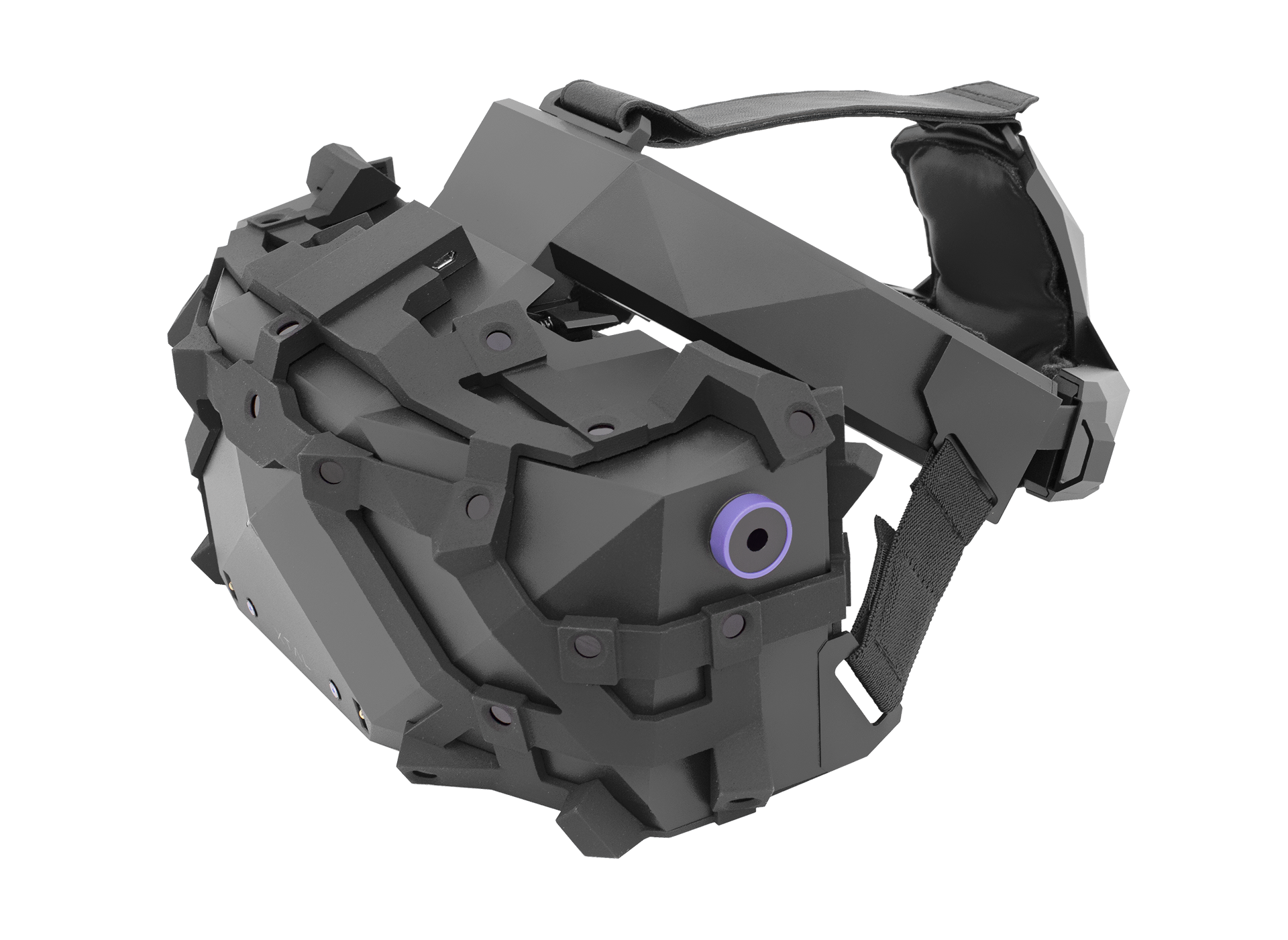 XTAL 5K high-end VR headset tracking ISO view