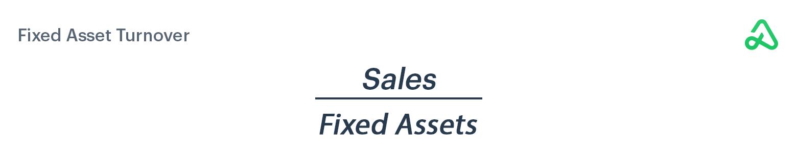 Fixed Asset Turnover formula