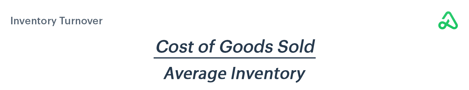 Inventory Turnover formula