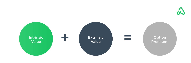 Option premium pricing components