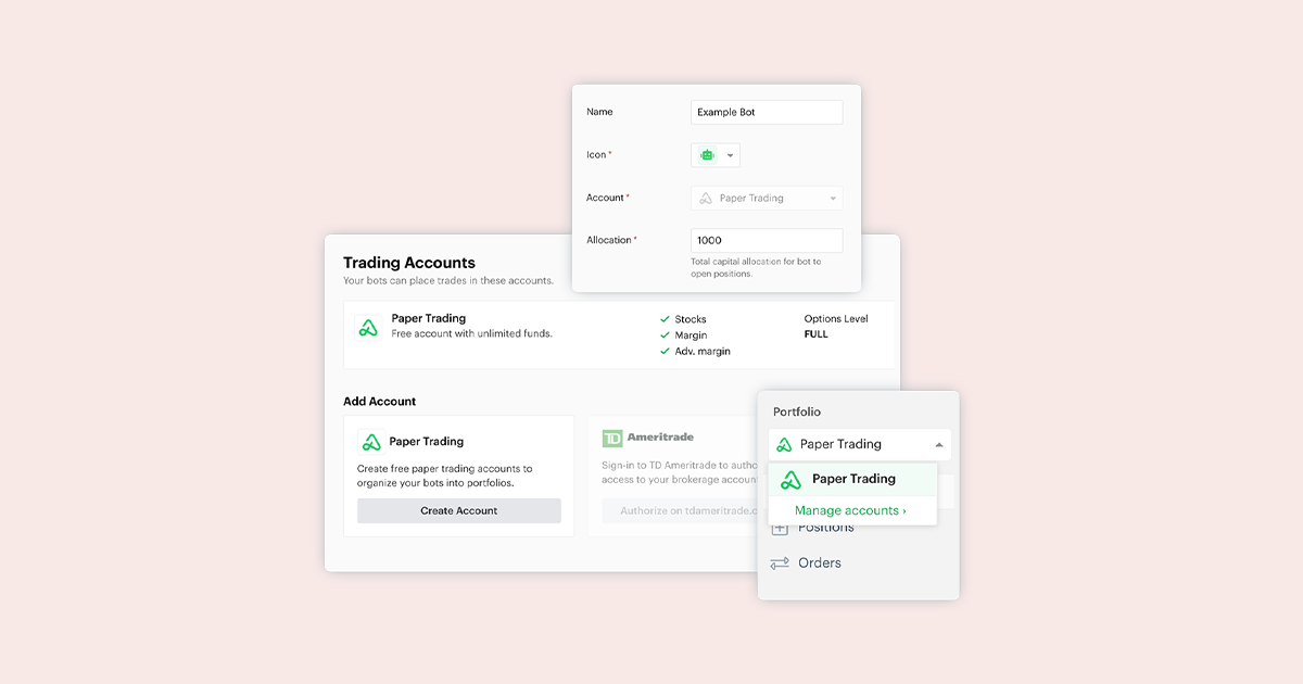 Account Management Improvements Released