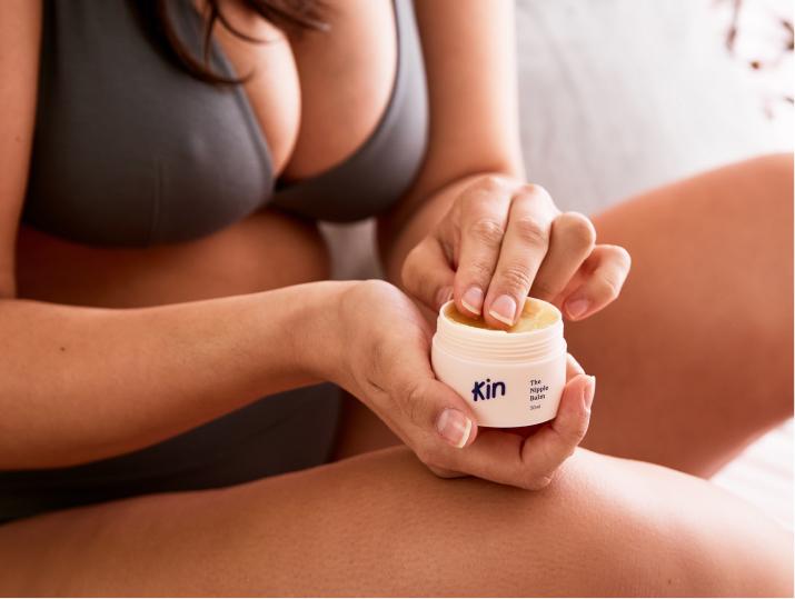 kin nipple cream for breastfeeding