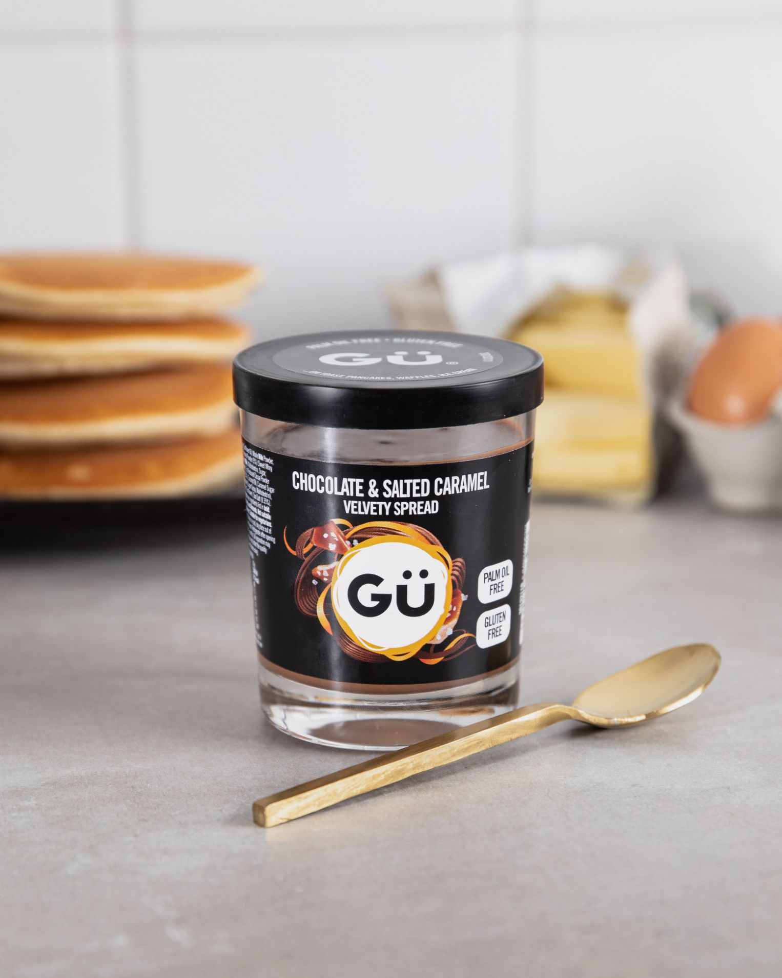 Gü Velvety Chocolate & Salted Caramel Spread
