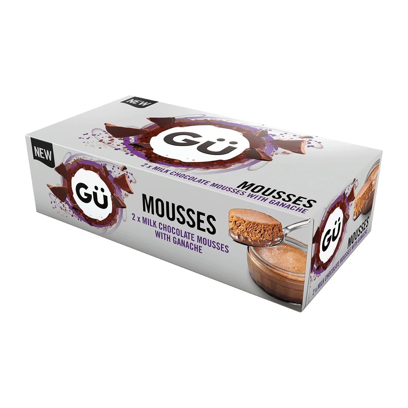Milk Chocolate Mousse & Ganache