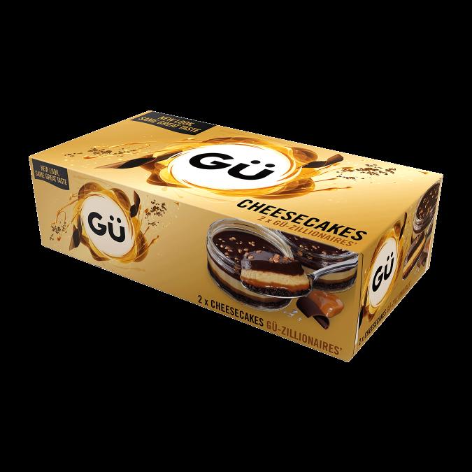 Gü-Zillionaires' Cheesecakes