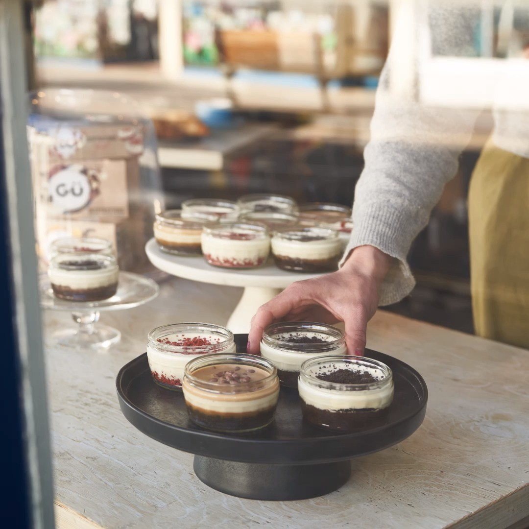 Our New Gü Inspirations range is so tasty you'll be back for more... delicious American style bakery favourites now available in selected Sainsbury's stores.  Disclaimer: not actually sold in American style bakeries
