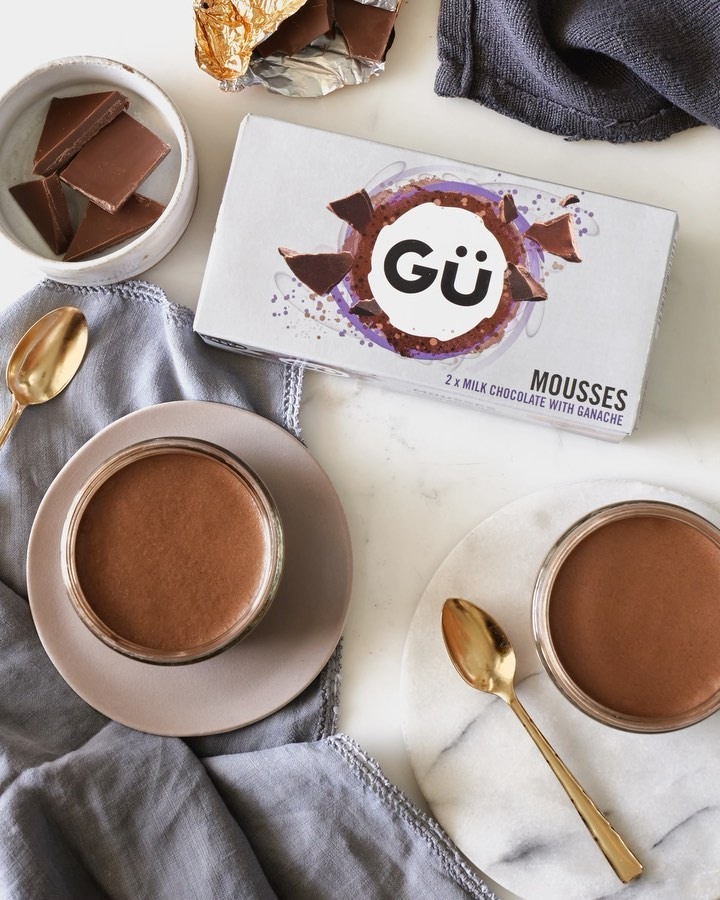 End your Wednesday in chocolate bliss with our Milk Chocolate & Ganache Mousses available in Tesco, Sainsbury's, Asda and Morrisons