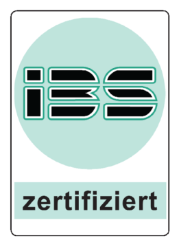 IBS zertifiziert