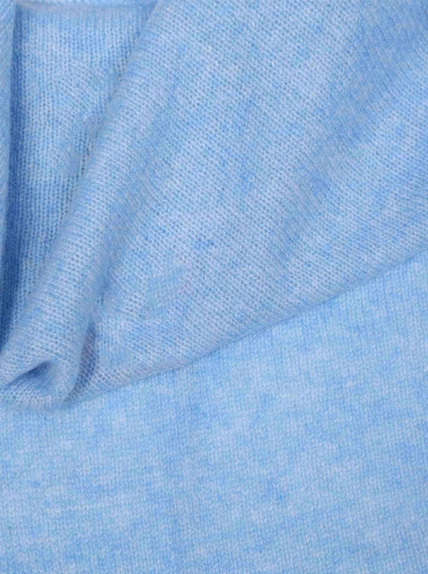 Dreieckstuch Cashmere Hellblau