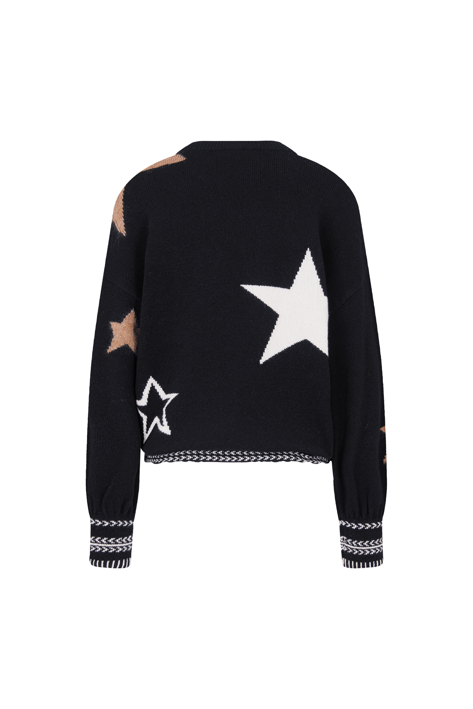 Pullover Jaina Sterne Schwarz