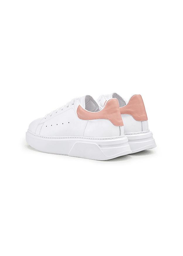 Sneaker Weiß-Rosé