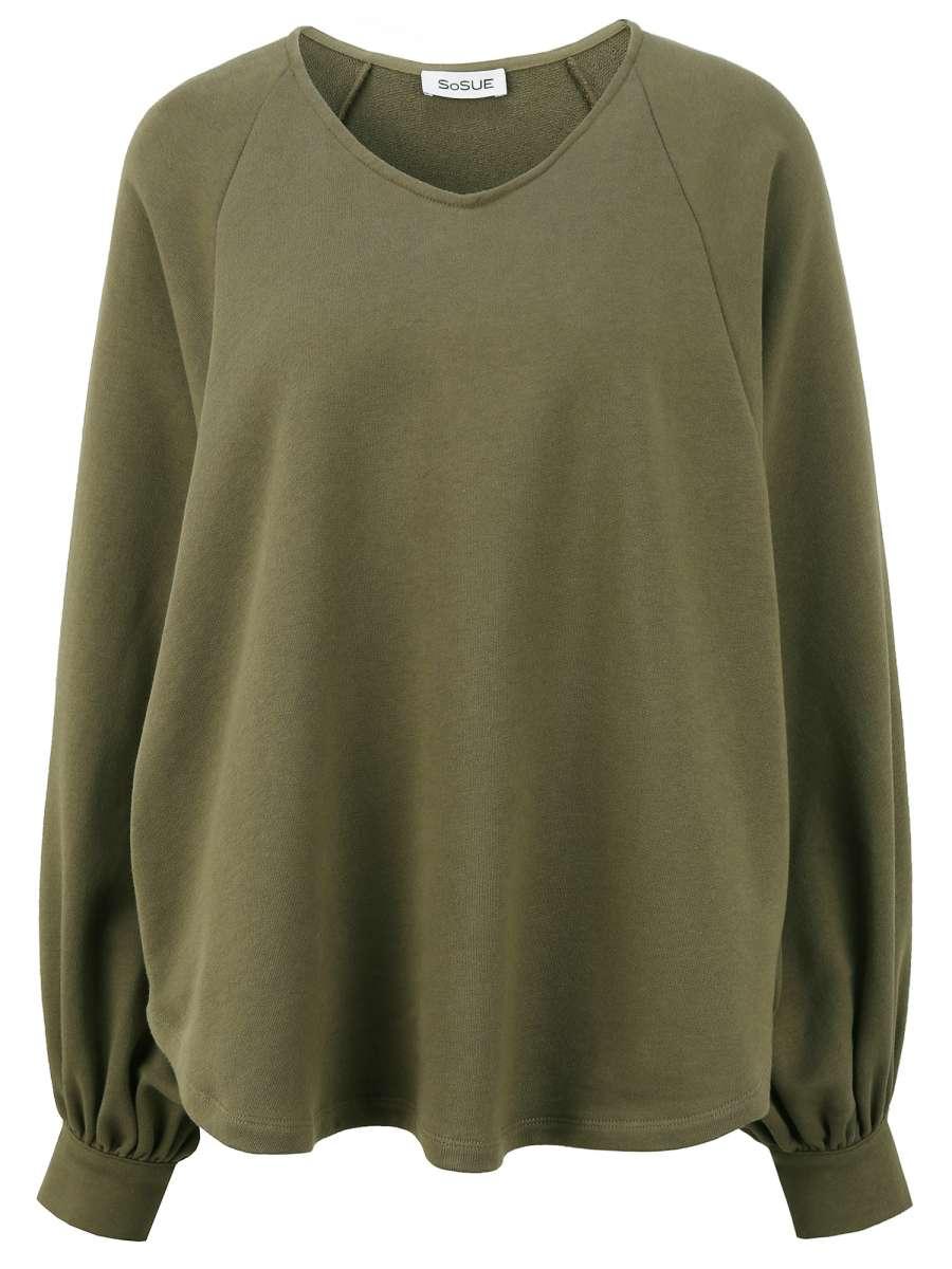 Sweatshirt Antonia Olive