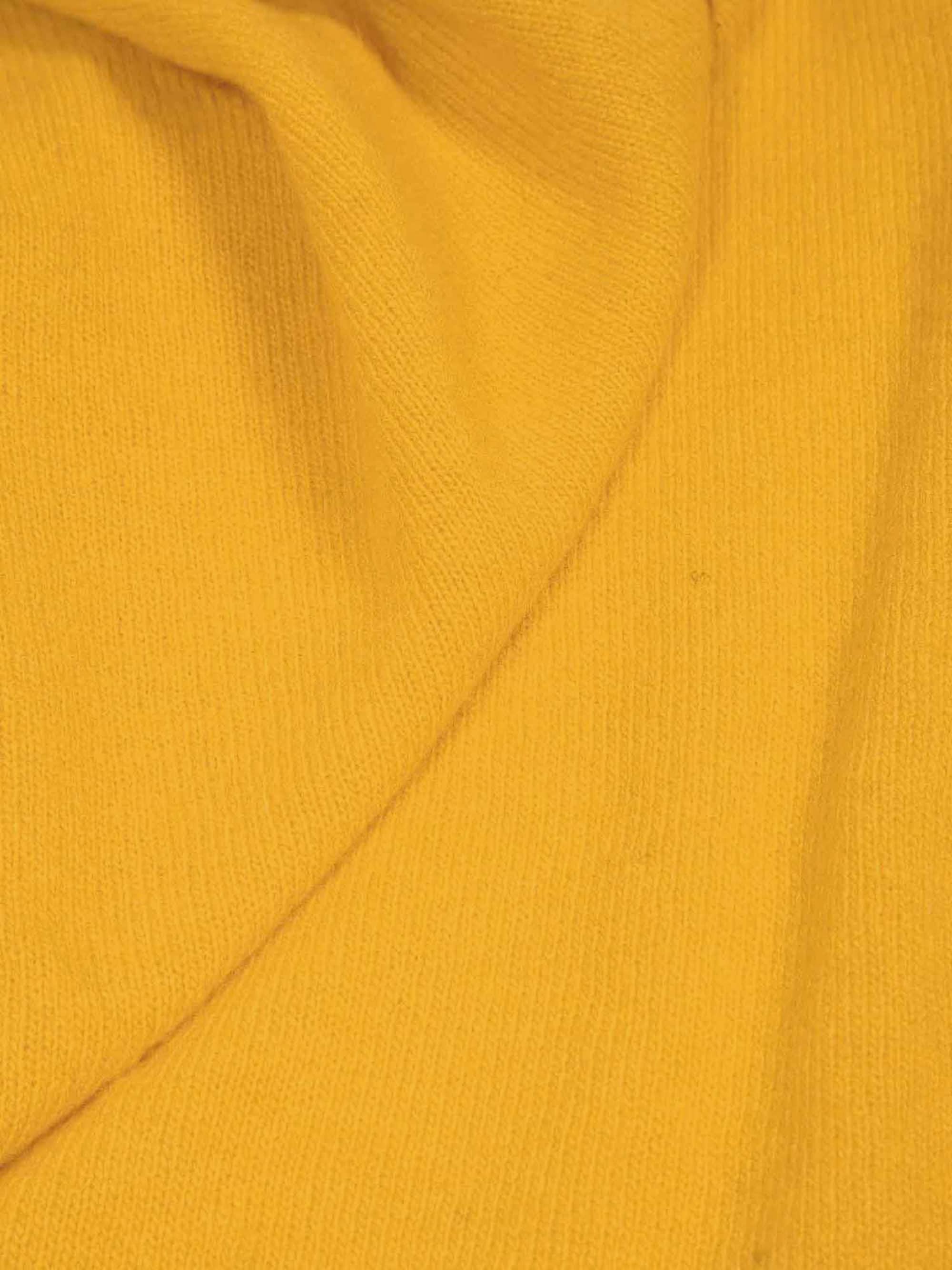 Dreieckstuch Cashmere Gelb