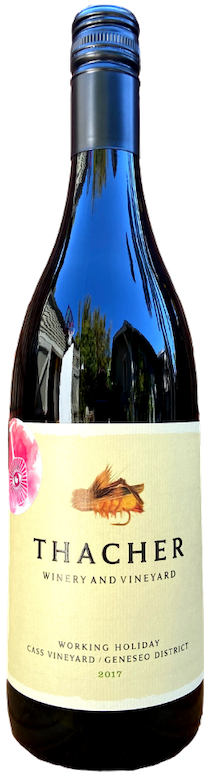 """Thacher 2017 """"Working Holiday"""" Red Blend"""