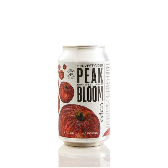 Eden Specialty Ciders Peak Bloom Hard Apple Cider