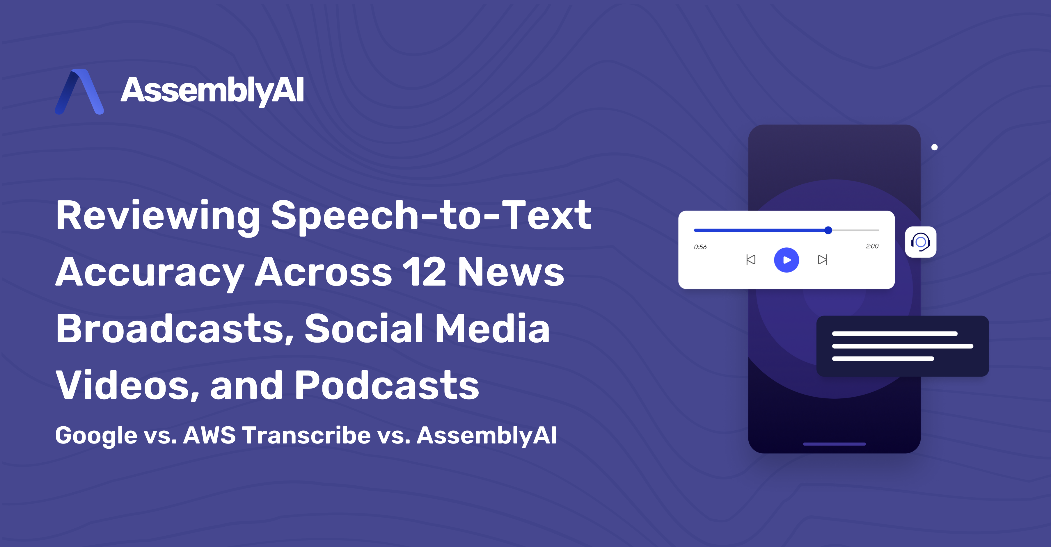 Reviewing Speech-to-Text Accuracy Across 12 News Broadcasts, Social Media Videos, and Podcasts