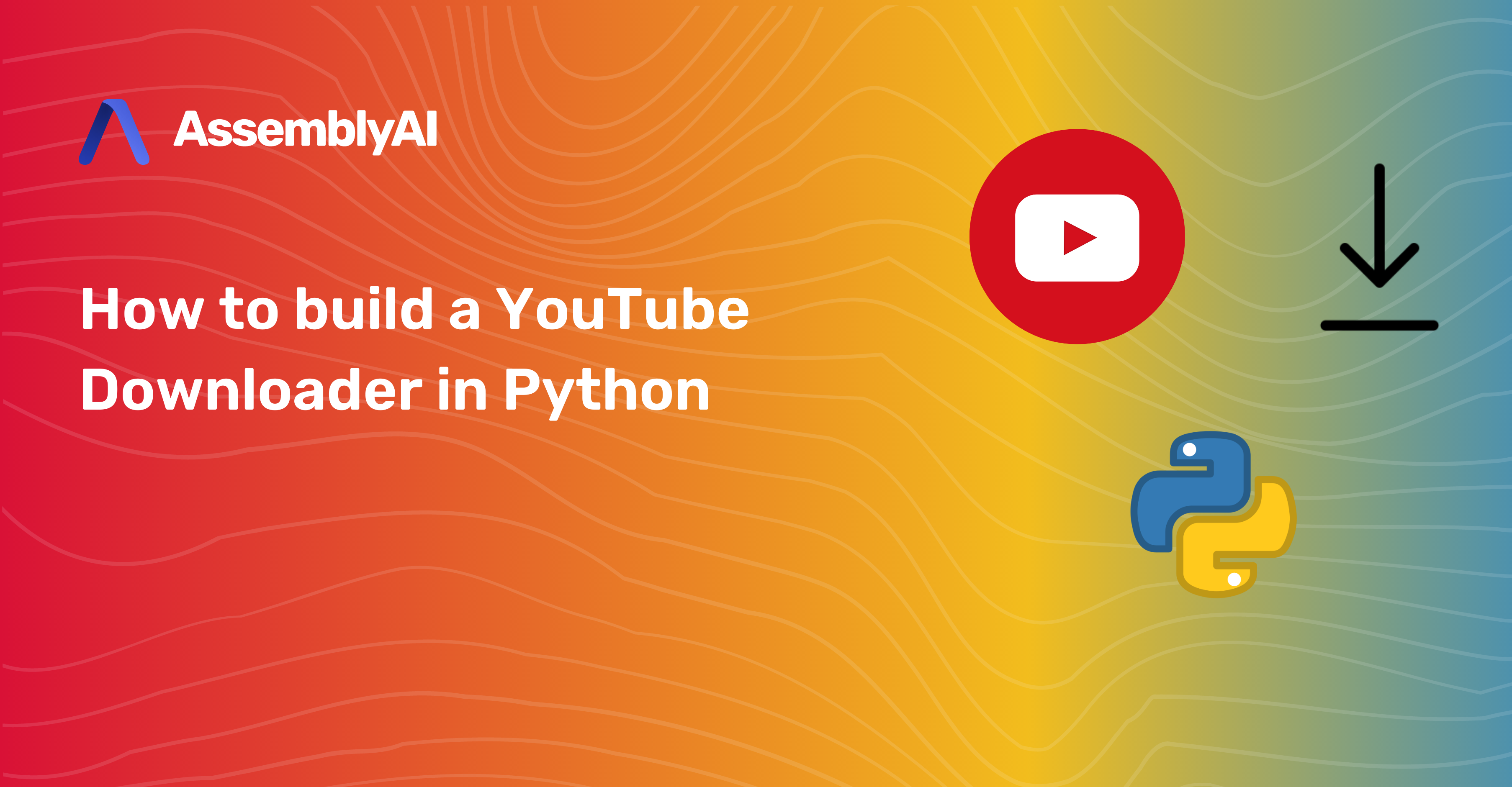 How to build a YouTube Downloader in Python