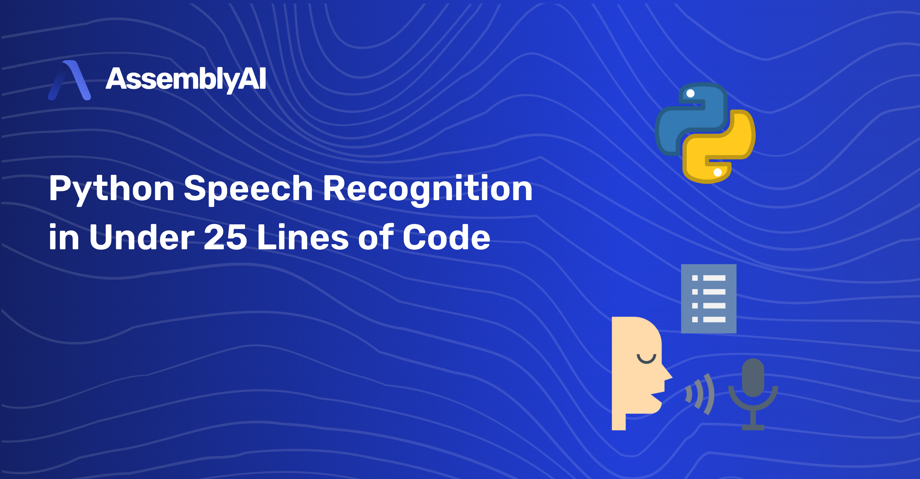 Python Speech Recognition in Under 25 Lines of Code