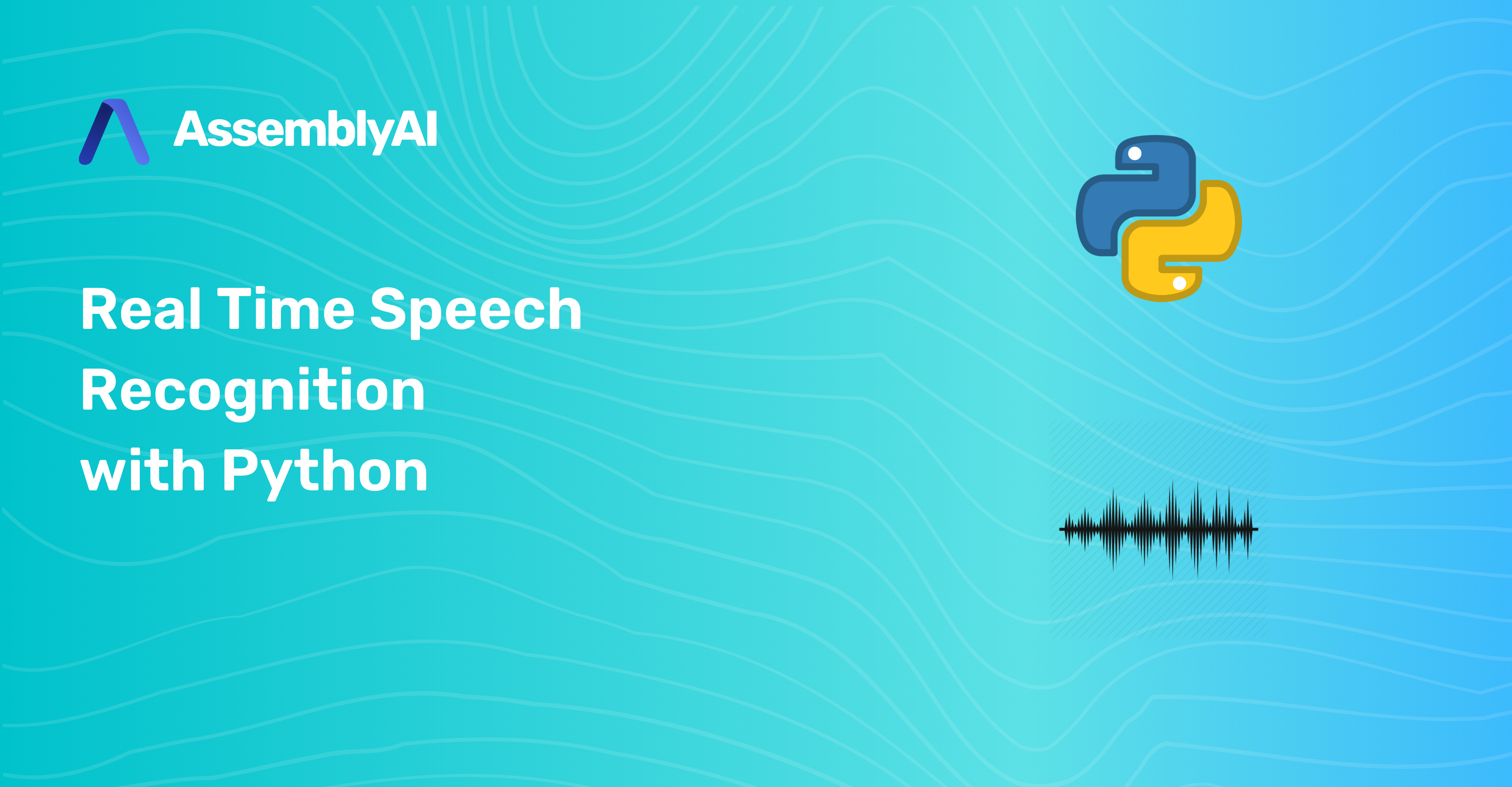 Real Time Speech Recognition with Python