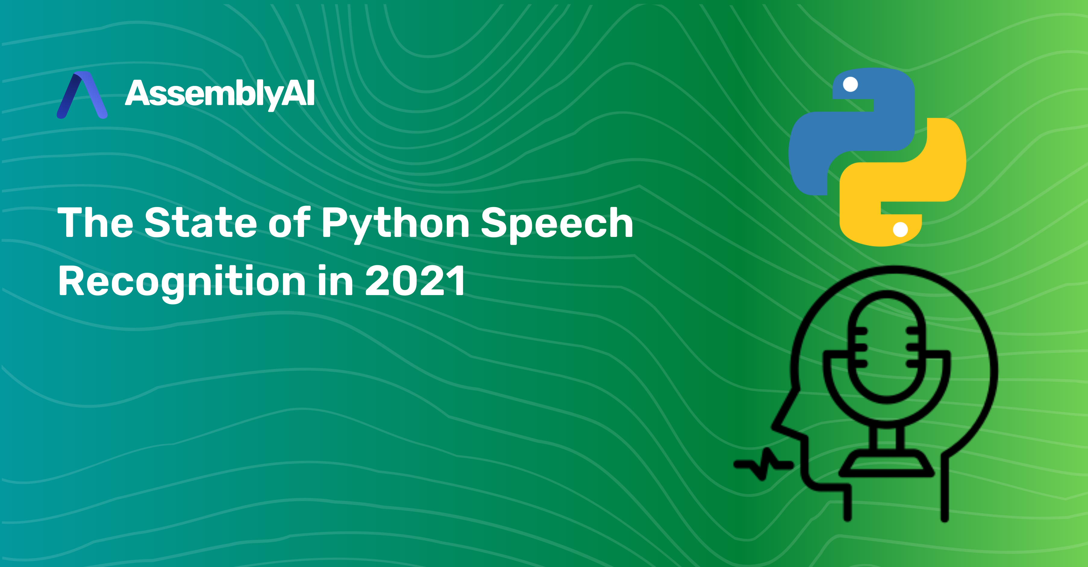 The State of Python Speech Recognition in 2021