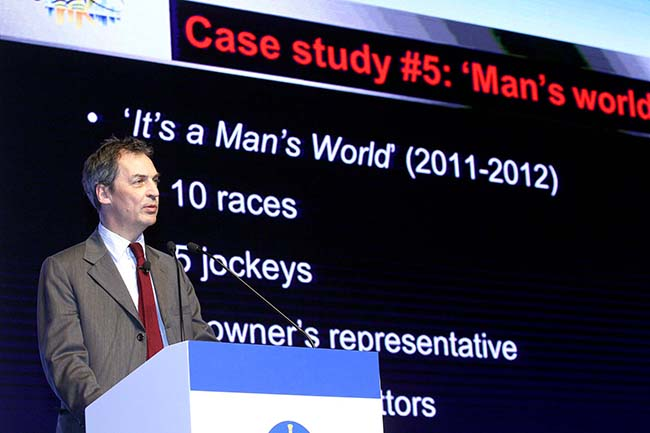 Panel speaker Mark Warby QC from the UK shares his views and opinion about racing integrity in the session.