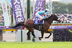 Almond Eye (JPN) and Christophe Lemaire, picture Japan Racing Association