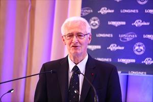 IFHA Chairman Louis Romanet, picture IFHA/ScoopDyga