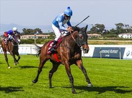 Oh Susanna and jockey Richard Fourie, picture Liesl King