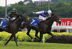 Walker and Woodworth win their first Singapore Gold Cup