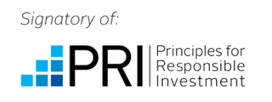 Signatory if Principles for Responsible Investing