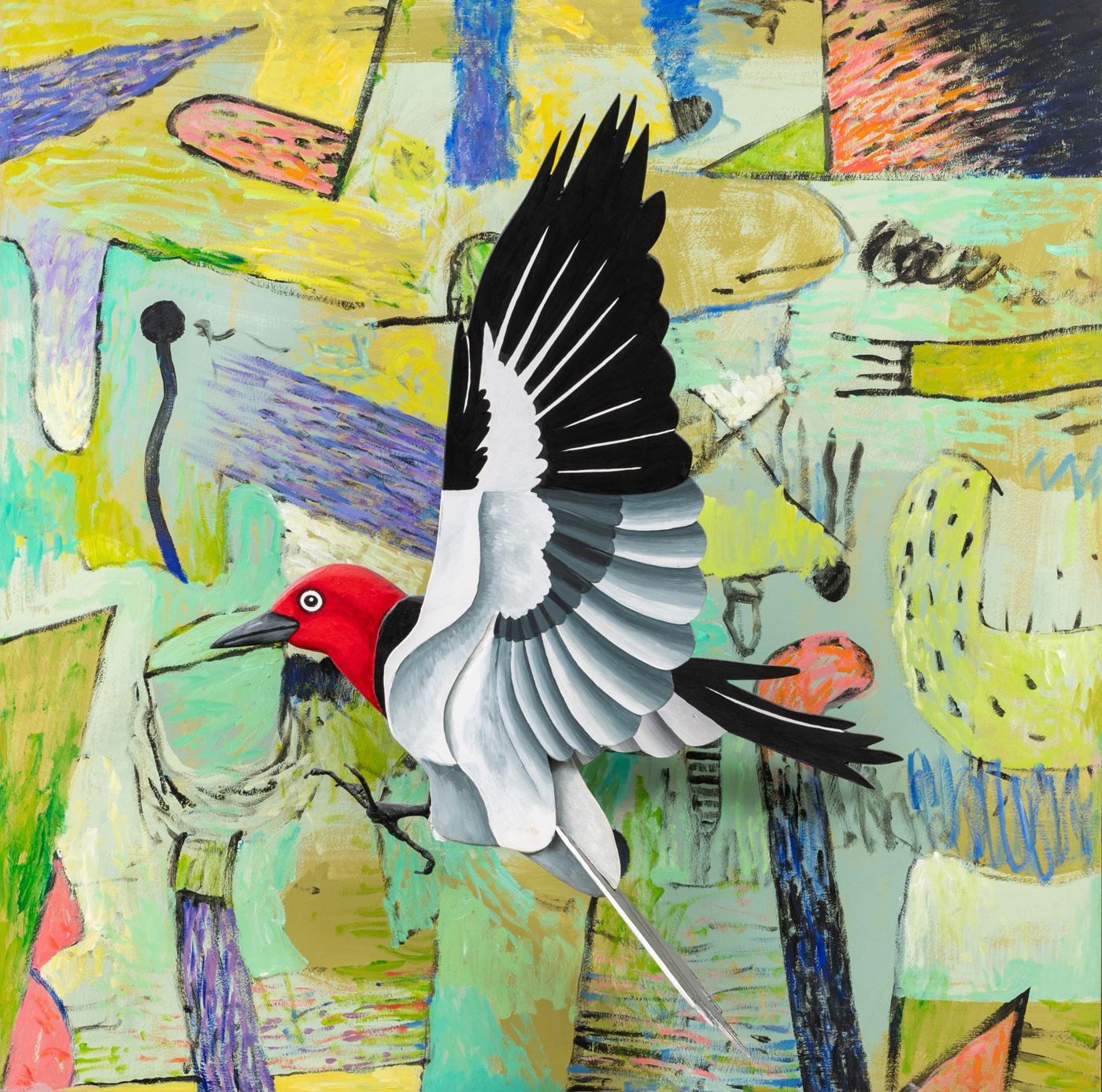 Landing (Woodpecker), Billy Hassell