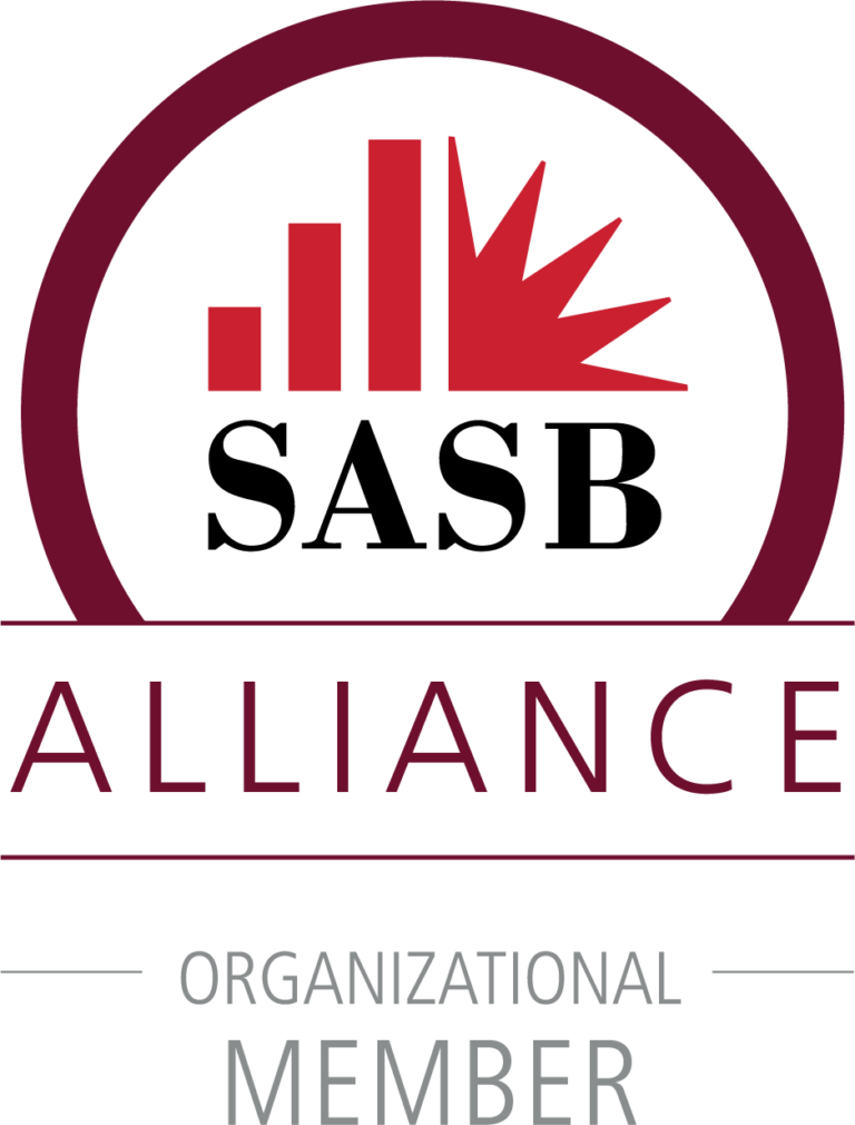 Sustainability Accounting Standards Board (SASB) Alliance