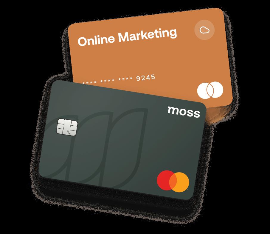 Moss Firmenkreditkarten für dein Unternehmen
